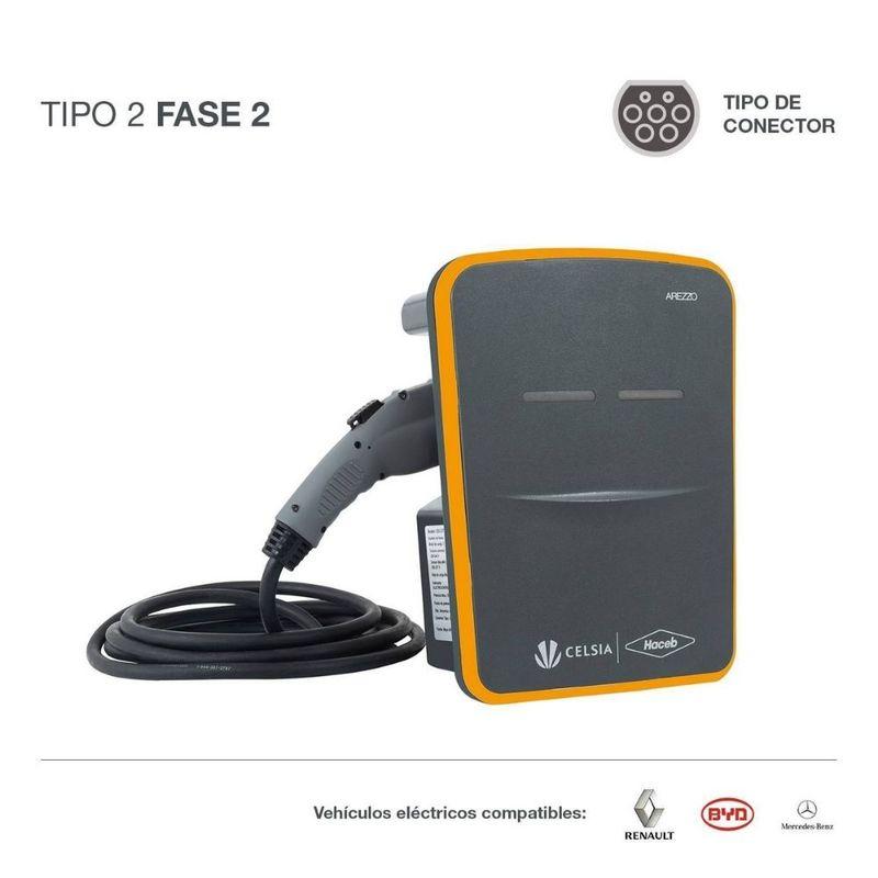 Cargador-para-vehiculos-electricos-Celsia-Haceb-T2-F2-naranja