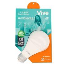Bombillo LED Vive Ambientar 9W  Luz blanca