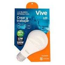 Bombillo LED Vive Crear y Trabajar 13W Luz Blanca
