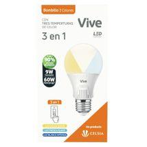 Bombillo LED Vive Empaque Clásico 9W 3 EN 1