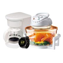 Combo Horno Halógeno Kalley 12 Lts + Cafetera K-CM 100K 8 tazas + Reloj Smart Watch kalley