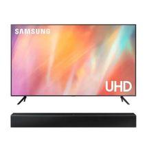 Televisor Samsung 43 pulgadas UHD 4K Smart AU7000KXZL + Barra de Sonido HW-T400/ZL