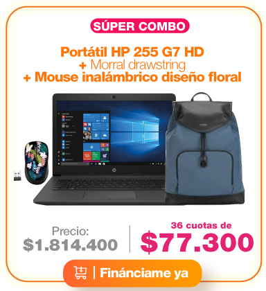 combo-portatil-hewlett-packard-255-g7-hd-morral-mouse-inalambrico-diseño-floral
