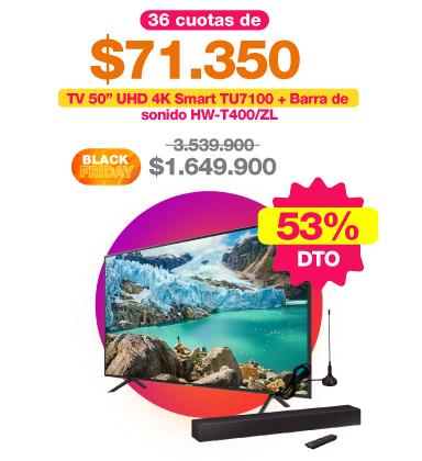 combo-one-box-televisor-samsung-50-pulgadas-uhd-4k-smart-tu7100-barra-de-sonido-hw-t400-zl